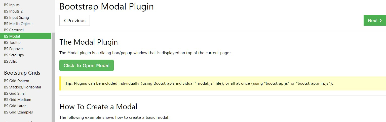 Bootstrap Modal Popup:  article  information