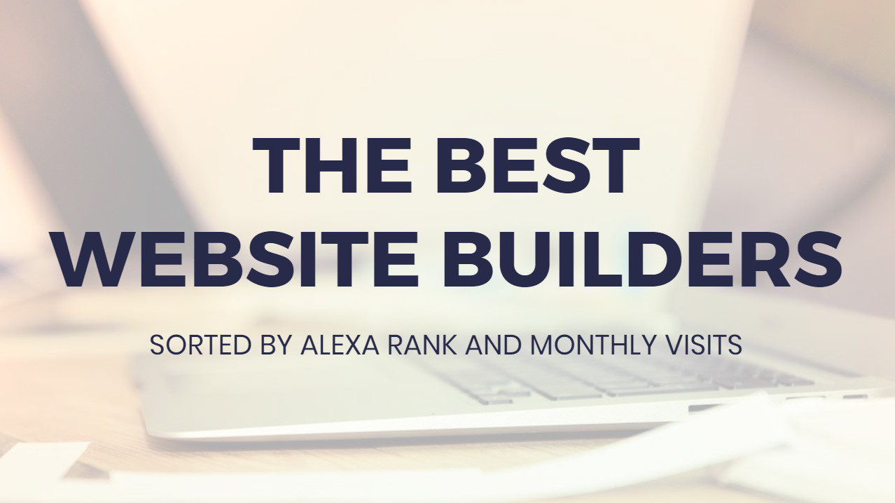 Most ideal  Web Site Builders