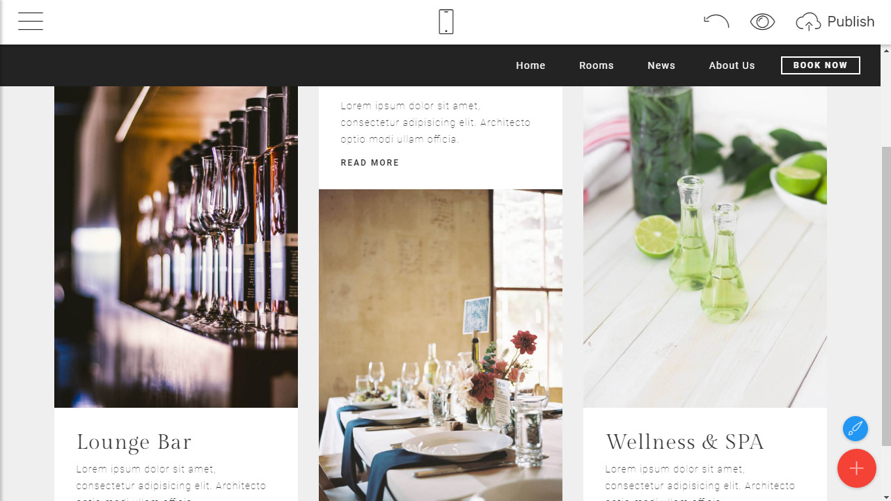 HTML Hotel Template