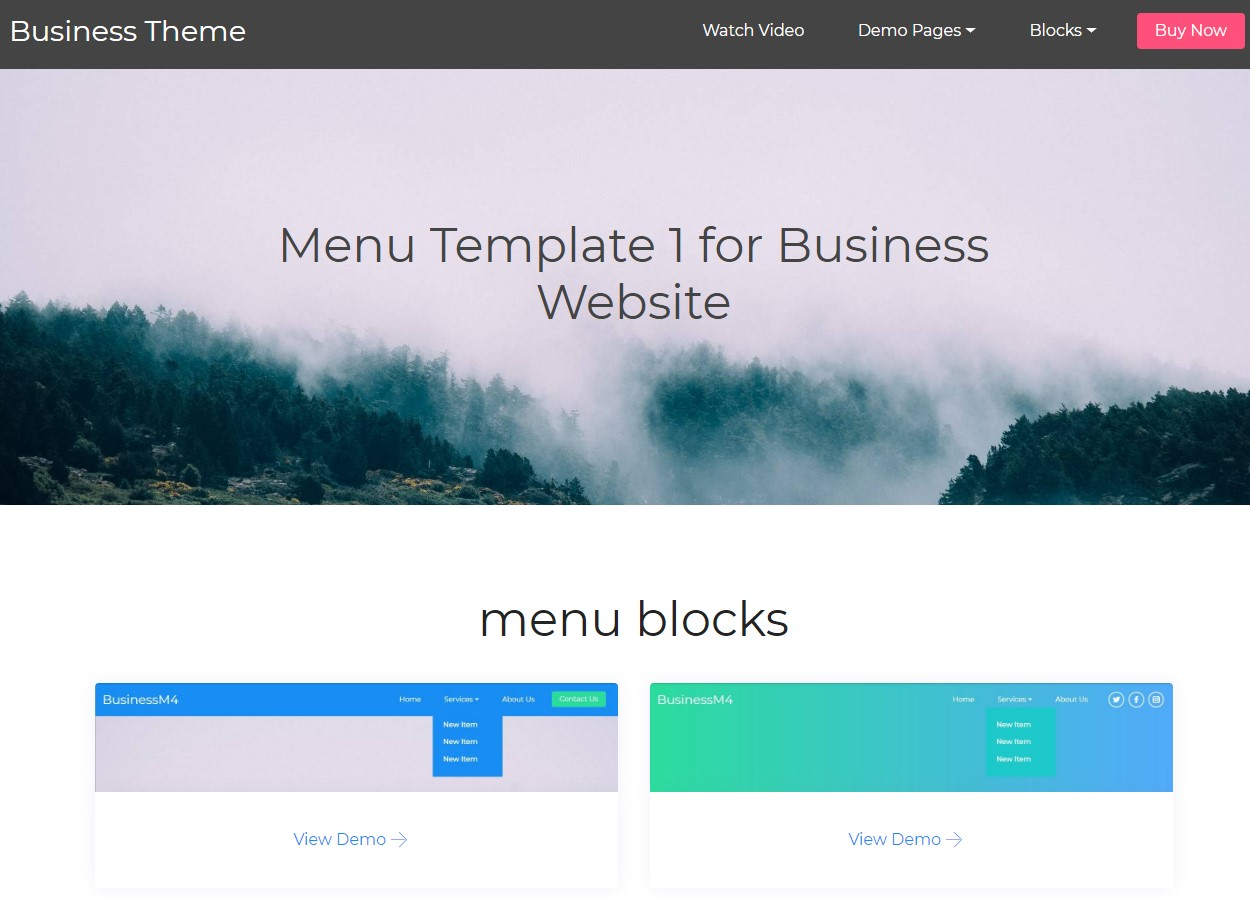 Responsive HTML Themes