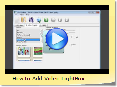 How to Add Video LightBox