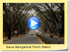 Save Bangalore From Metro