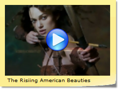 The Risiing American Beauties